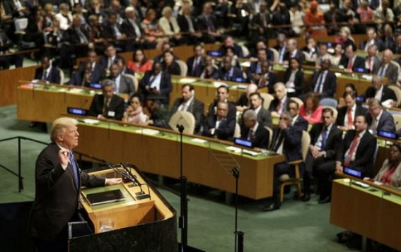 Trump's UN speech bares 'Evils of Communism'