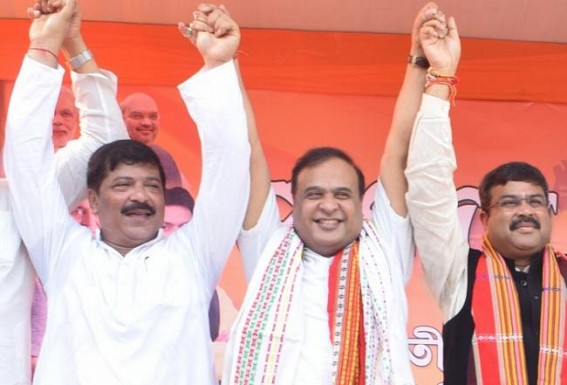 Himanta Biswa Sarma : Scamster to 'Lotus Star', blots on Indian Democracy