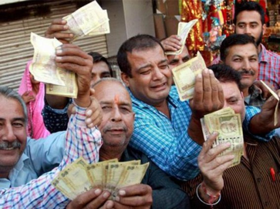 Dictation of Demonetisation : A Derisory Debacle