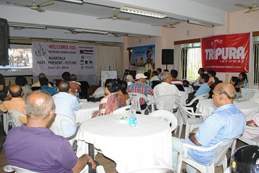 A seminar on Agartala Cycle Club at Agartala Press Club. TIWN Pic July27