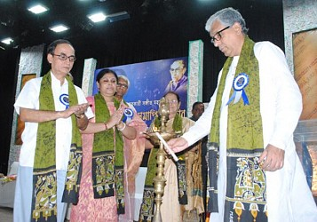 CM inaugurates  the Golden Jubilee closing ceremony of Sachin Debbarman Music college at Muktadhara on Sept 15. TIWN