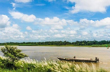 A view of Feni River Bangladesh. TIWN Pic July 31
