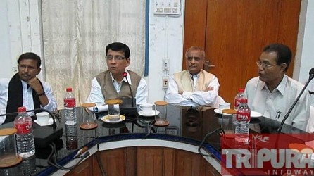 Four Ministers conducting preparatory meeting at Udaipur. TIWN Pic Nov 25
