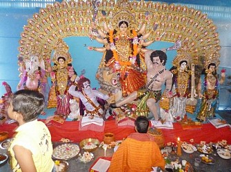 Durga Puja Maha Saptami in Kamalpur. TIWN Pic Oct 1
