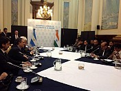 Jiten visits Argentina : Indian Parliamentary team's goodwill mission continue in South America