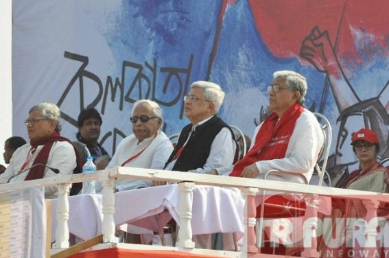 Yechury advocates fight against Hindu fundamentalists,skips condemning Islamic terrorism : decimated CPI-M's strategy bites dust, Party's support base faces further erosion