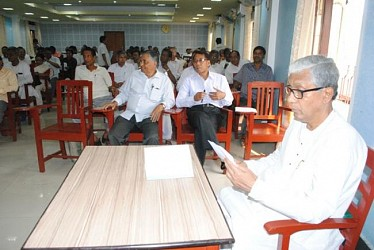 CPIM cpim state committee meeting at party office. TIWN Pic Mar 26
