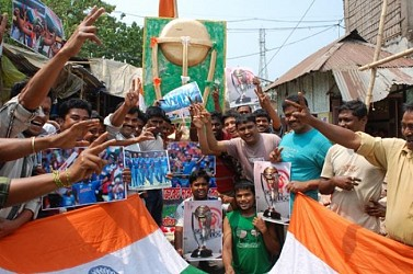 Cricket world cup fever at Agartala  (4)