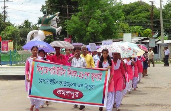 World Hepatitis Day observes at Kamalpur