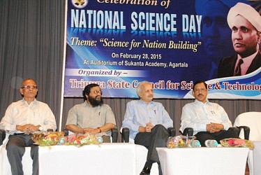 National Science Day celebration at Sukanta Academy. TIWN Pic feb 28