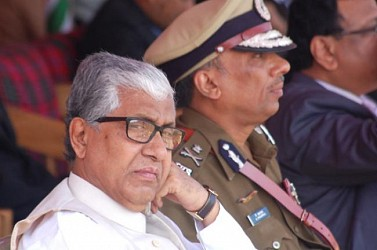 Grumpy(?) CM  at Assam Rifles ground. TIWN Pic Jan 26