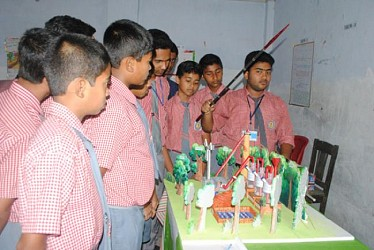 Science exhibition at Agartala Boy's Budhjung school. TIWN Pic Apr 24