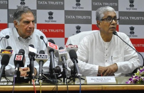 Tripura gets TATA backed development programs; Tata trust signs MoU with Tripura Govt. towards sustainable development