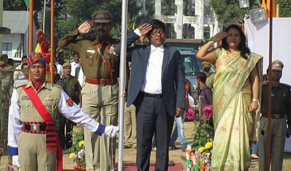 Republic Day celebration at Udaipur. TIWN Pic Jan 26