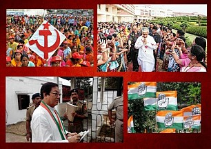 'Tripura progressing rapidly than any-other state' : CM's words trigger massive reaction; PCC Chief says 'Manik Babu has 'lost' his mind, Tripura not only in India, but the rarest example of deprivation by communists in World'