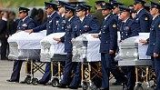 Tens of thousands in Brazil bid farewell to plane crash victims