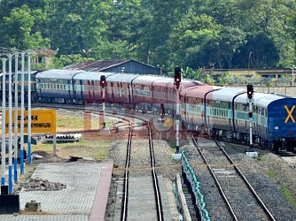 More 24 bogies entered Tripura for Tripura Sundari Express Train. TIWN Pic July 30