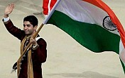 Shooter Bindra arrives in Rio