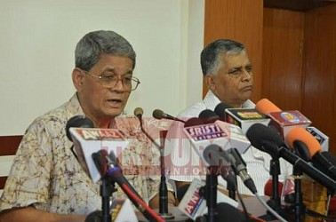 CPI-M held press meet at party office. TIWN Pic May 27