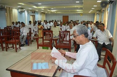CPI-M held state committee meeting at party office. TIWN Pic May 26
