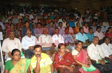 District level orientation workshop held at Nazrul Kalakshetra. TIWN Pic May 4