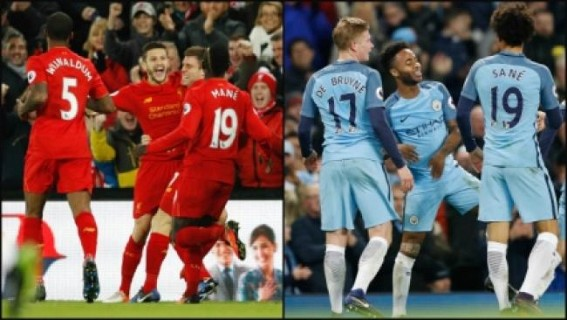 Manchester City, Liverpool in exciting draw