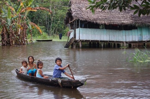 Flood alert for Amazon River