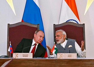 India supports 'expanded role' of Russia in global affairs