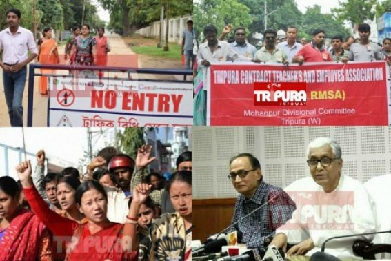 'Stand beside us too...' RMSA discontinued staffs ask Tapan Chakraborty : Bonanza offers for 10,323 turning heavy upon Tripura Left Front Govt