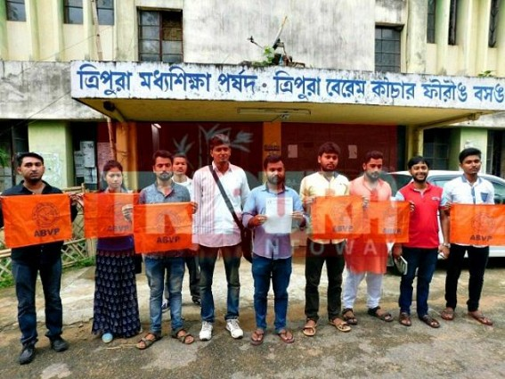 ABVP demands flawless Board Exam results