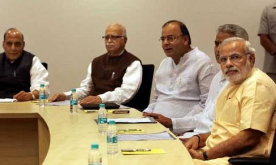 Modi attends BJP Parliamentary Board meeting