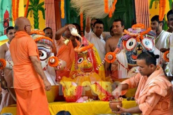 Preparation on peak for Ratha-Yatra across Jagannath temples