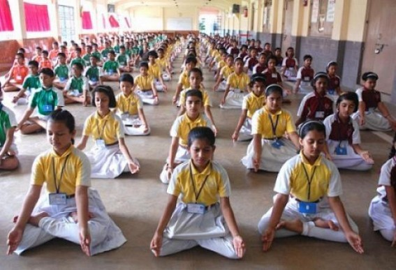 World Yoga Day : A poll tool for BJP in Tripura frustrates CPI-M