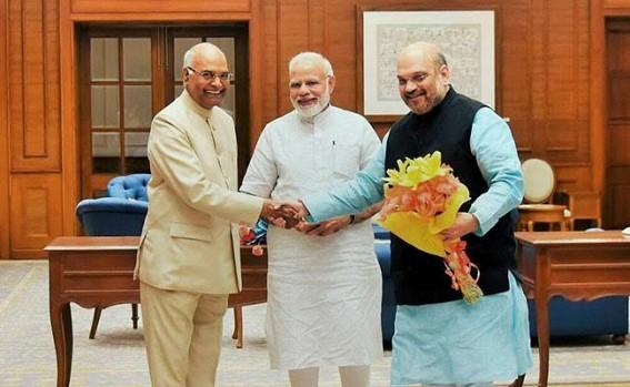 Modi says confident about Kovind's victory