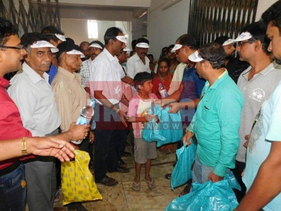 Free health camp for flood-hit area at Agartala
