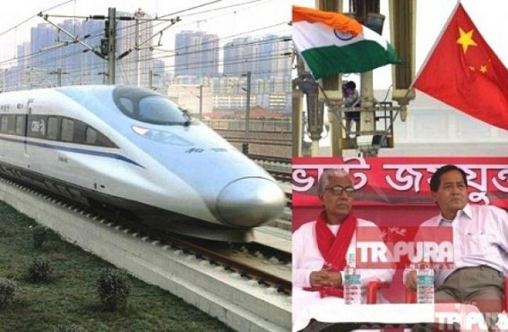 'India can't be like China in technology', says CPI-M MP praising China's Railway service : Public ask him to repair TRTC Stand