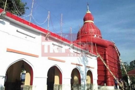 Preparation for Diwali on peak at Matabari : Tight security arrangement for Udaipur-Agartala train service