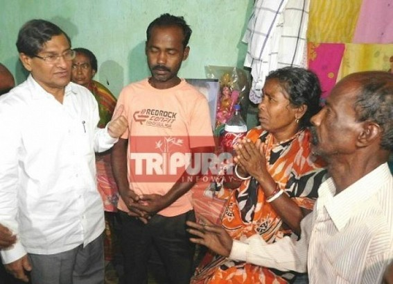 CPI-M's Recruitment Corruption slapped by  HC, SC but tainted Manik Dey says, 'Providing jobs are not so Easy, Recruitment Rules must be followed' after Khumlwng Violence victim Jiban Debnath's mother demands Govt Job for her family