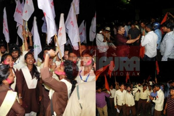SFI wins College Election, ABVP wins against 'odd'