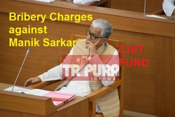 Chief Minister Manik Sarkar's Image Punctured by Opposition MLA Ratan Lal Nath, charged Sarkar for building new flat at In-law's house with Chit Fund money