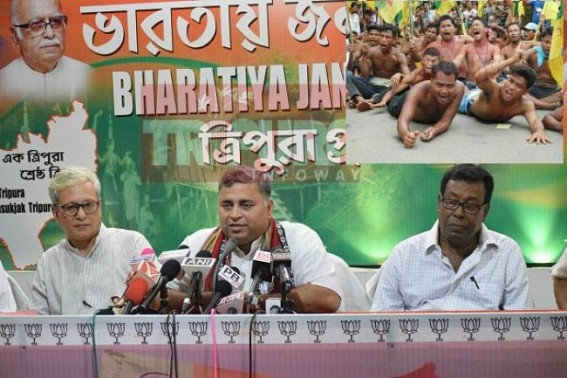 'BJP to block Chief Minister's movement if IPFT's blockade is not withdrawn in next 48 hrs' : Sunil Deodhar