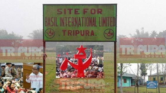 Manik Sarkar's penchant for Chit-Fund companies raise questions on CPI-M, Chit Fund nexus : 'Basil' continue to hold massive lands across Tripura : Orissa, Bengal Govts auction Chit Fund lands, no action in Tripura
