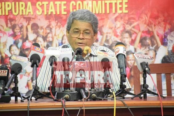 Bijan Dhar lies on Tripura's National Highway pathos liabilities 'belong to Centre'