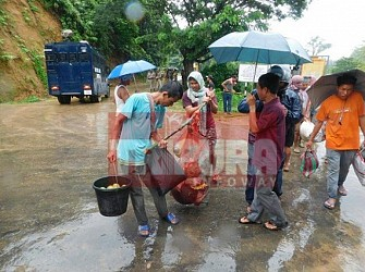 IPFT blockade ends after Centre's intervention. TIWN Pic July 20