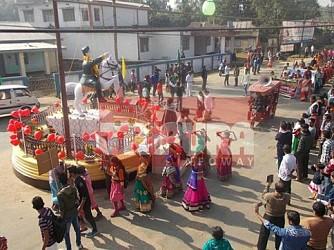 Netaji Jayanti celebrated at Kamalpur. TIWN Pic Jan 23