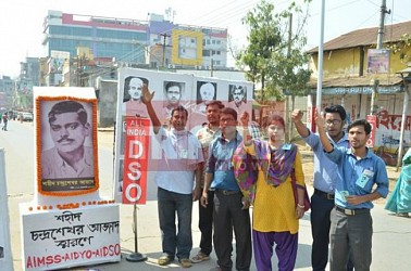 DSO remembered Chandrashekhar Azad. TIWN Pic Feb 27