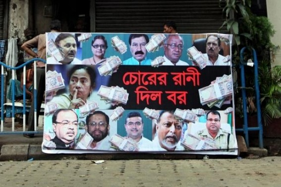 Bengal opposition parties protest over Narada issue