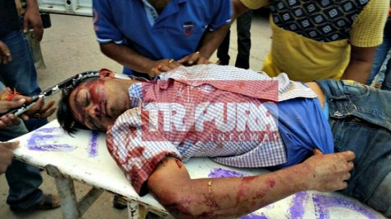 Brutal murder of Tripura Journalist at Mandai while covering CPI-M / IPFT clash : Section 144 implemented at Mandai