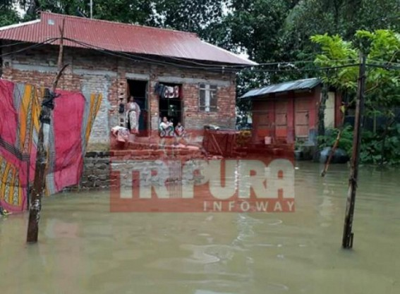 Mass suffering in monsoon due to Udaipur Municipal Corporation's negligence
