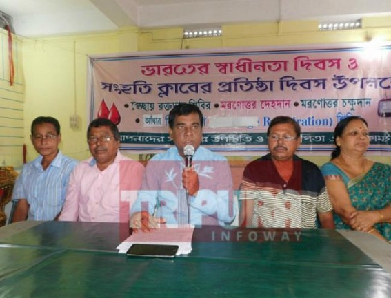 Agartala Clubs gear up to celebrate 15th August